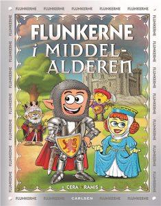 Flunkerne, Flunkerne i Middelalderen, børnebøger, børnebog, aktivitetsbøger