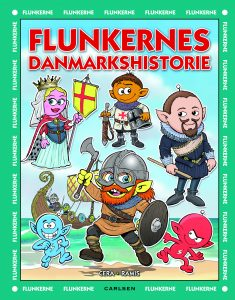 Flunkerne, Flunkernes danmarkshistorie, børnebøger, børnebog