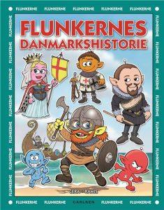 Flunkernes danmarkshistorie, flunkerne, børnebøger til sommerferien