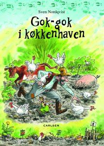 Pedersen og findus, gok-gok i køkkenhaven, børnebøger til sommerferien
