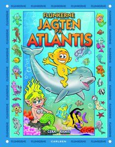 Flunkerne, Jagten på Atlantis, børnebøger, børnebog
