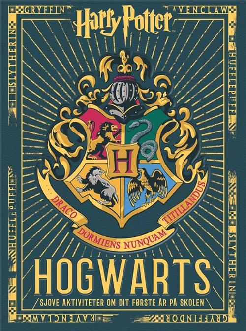 Harry Potter, Hogvarts, opgavebog, børnebøger, Carlsen
