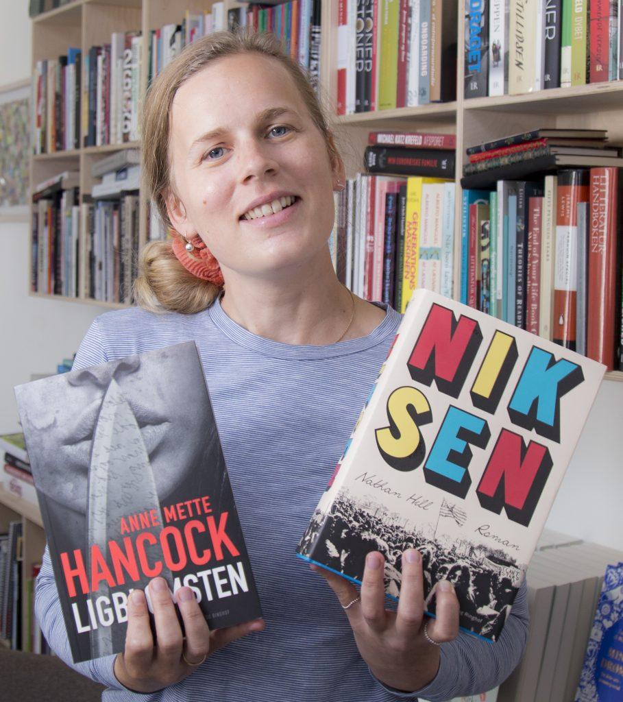 Ferielæsning, Anne Mette Hancock, Nathan Hill, Niksen, Stor amerikansk roman, debutroman, bestseller til ferien