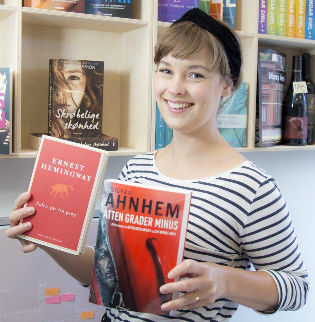 Ferielæsning, Heminqway, Solen går sin gang, Hemingways første bog, Stefan Ahnhem, Atten grader Minus, Fabian Risk