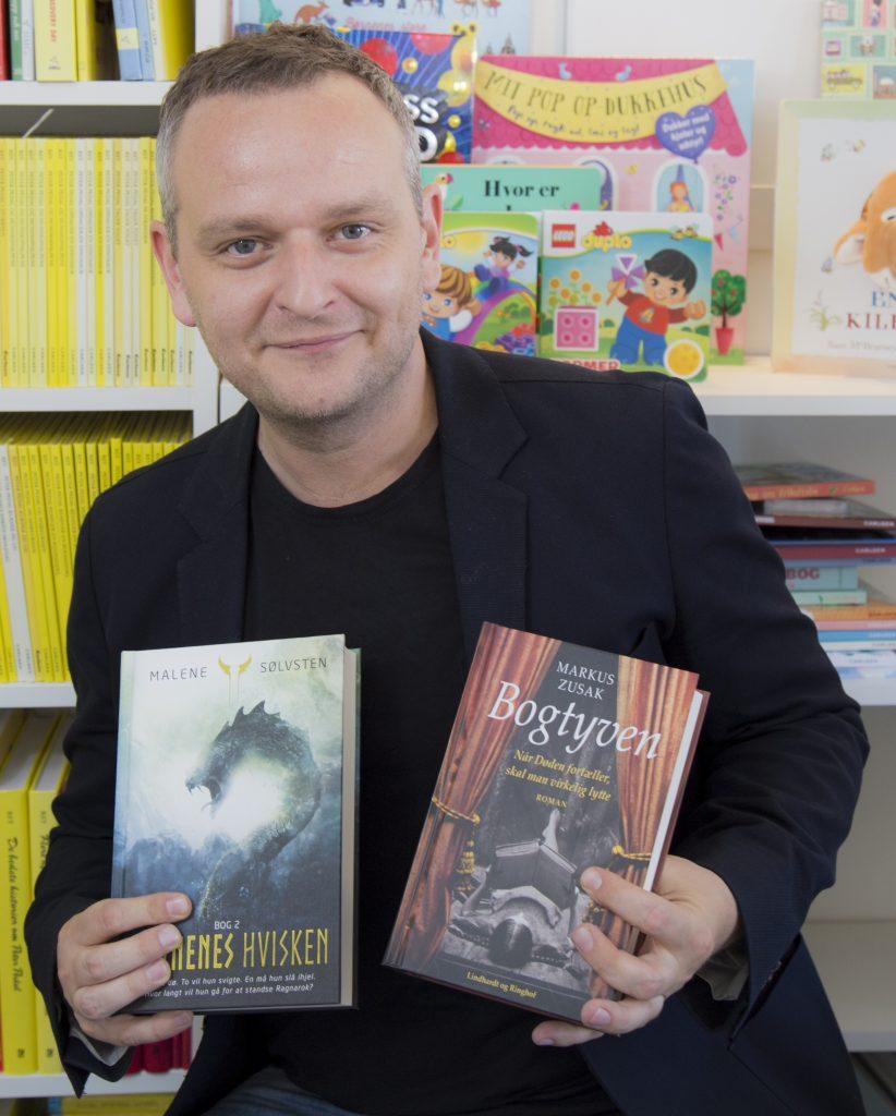 Ferielæsning, Malene Sølvsten, Ravnenes Hvisken, Bogtyven, Markus Zusak