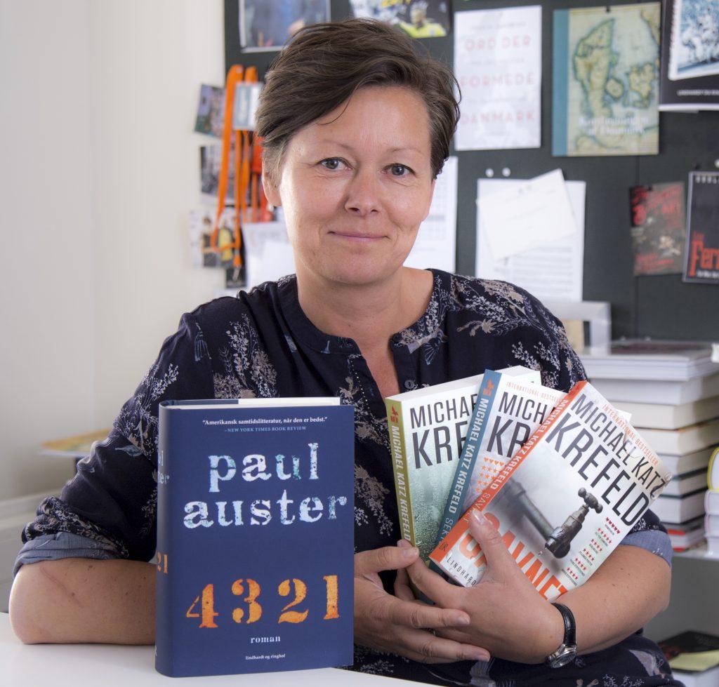 Ferielæsning, Paul Auster, 4 3 2 1, Michael Katz Krefeld, Savnet, Dybet, Sekten