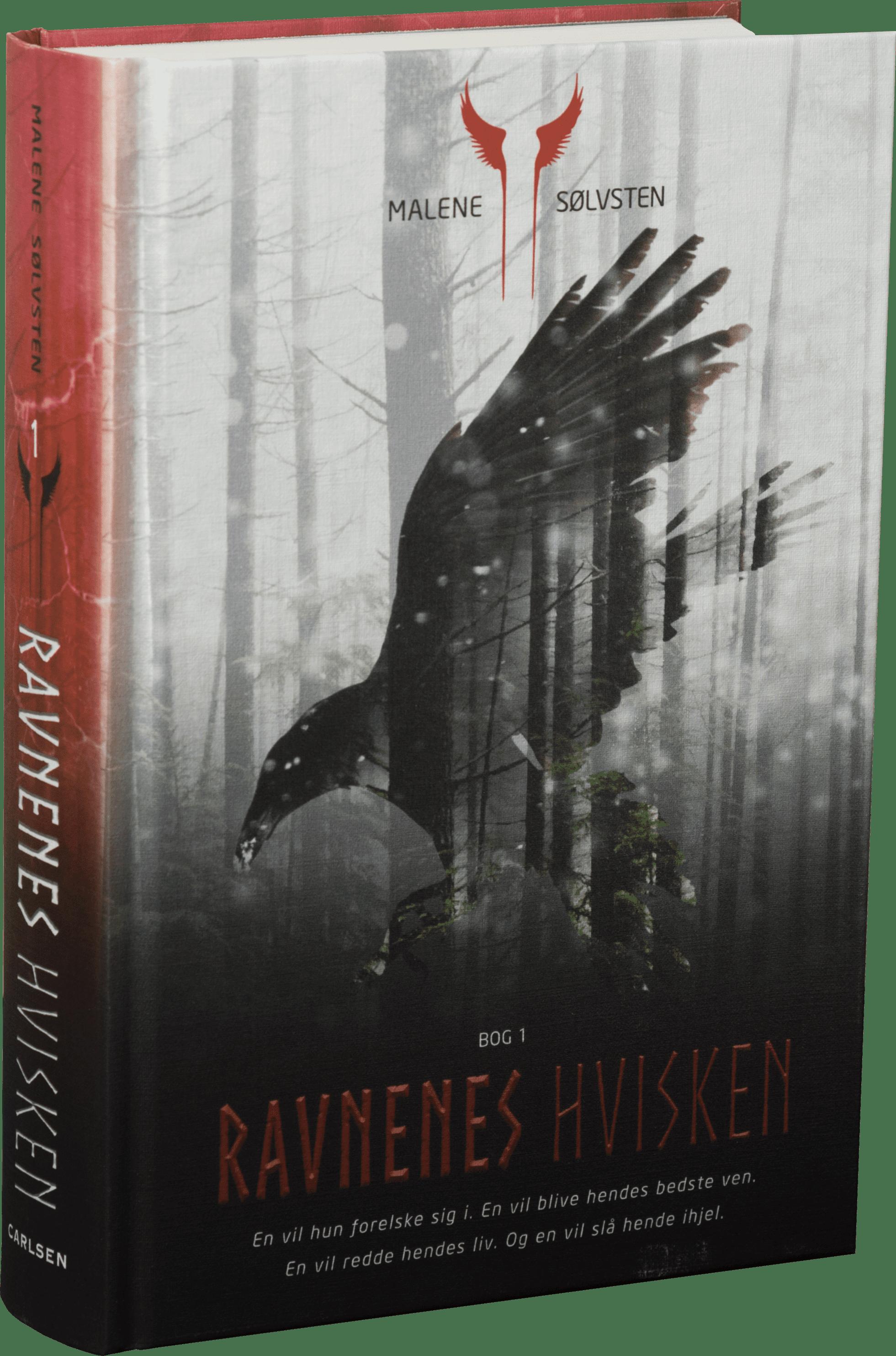 Ravnenes hvisken, Ravnenes hvisken 1, Malene Sølvsten, fantasy, dansk fantasy, nordisk mytologi
