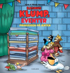 Rasmus Klump, Rasmus klumps eventyr prinsessen på ærten, bøgebøger