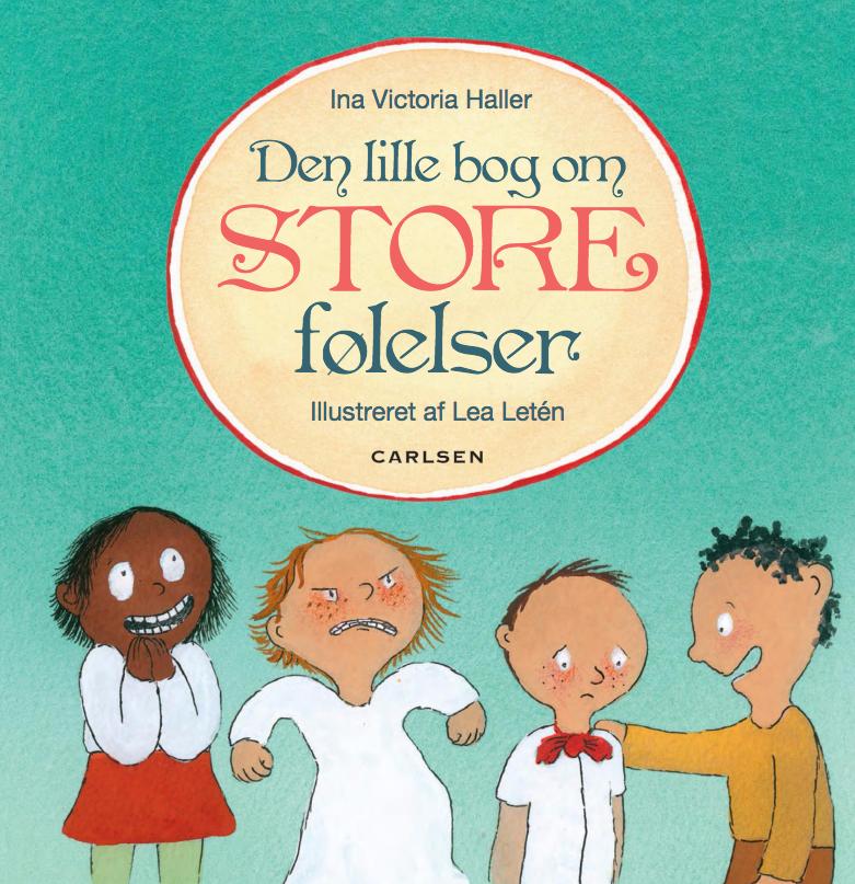 den lille bog om store følelser , dialogisk læsning, børnebøger, højtlæsning