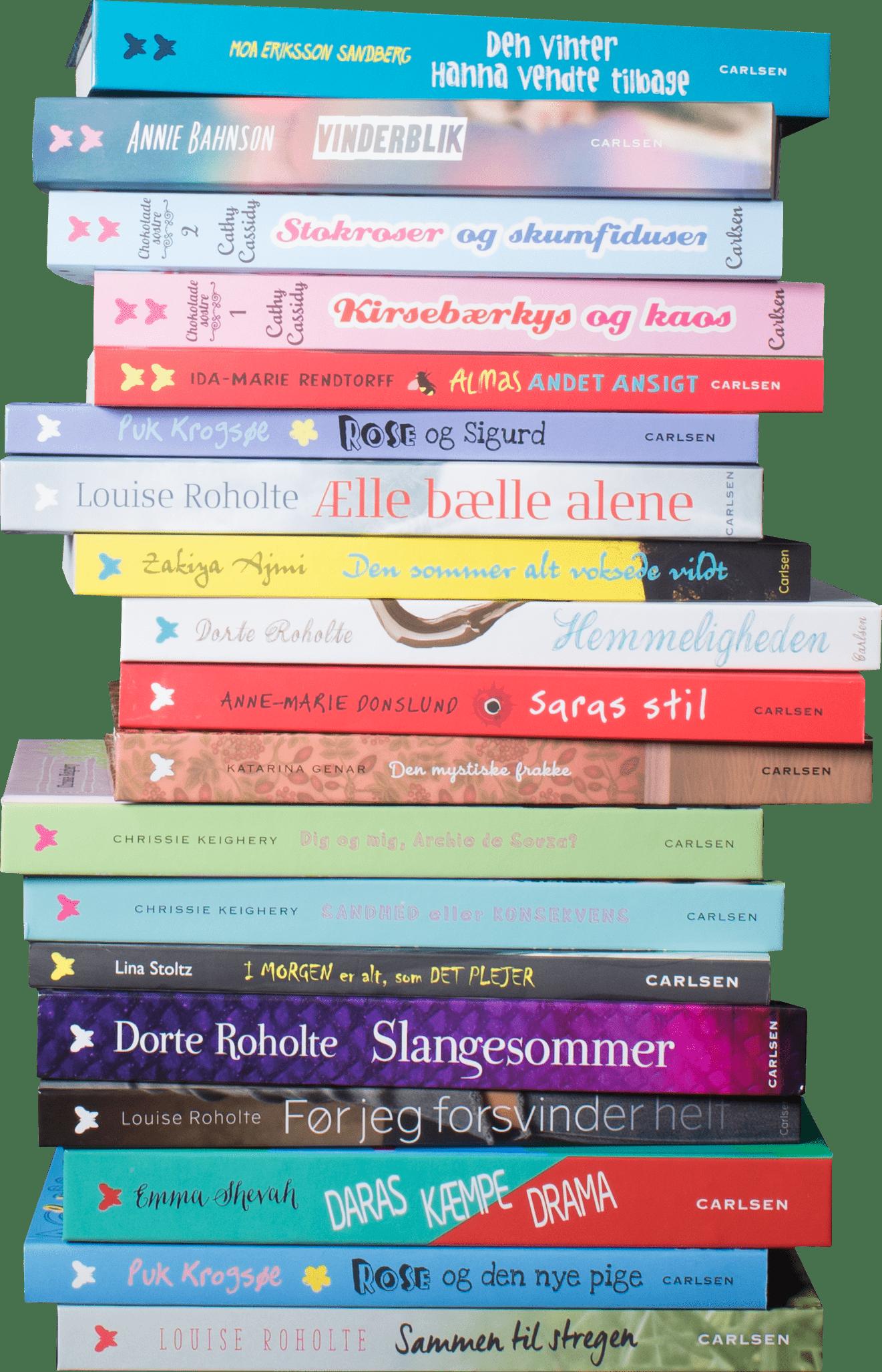 Sommerfugle-serien, bøger til tweens, pigebøger