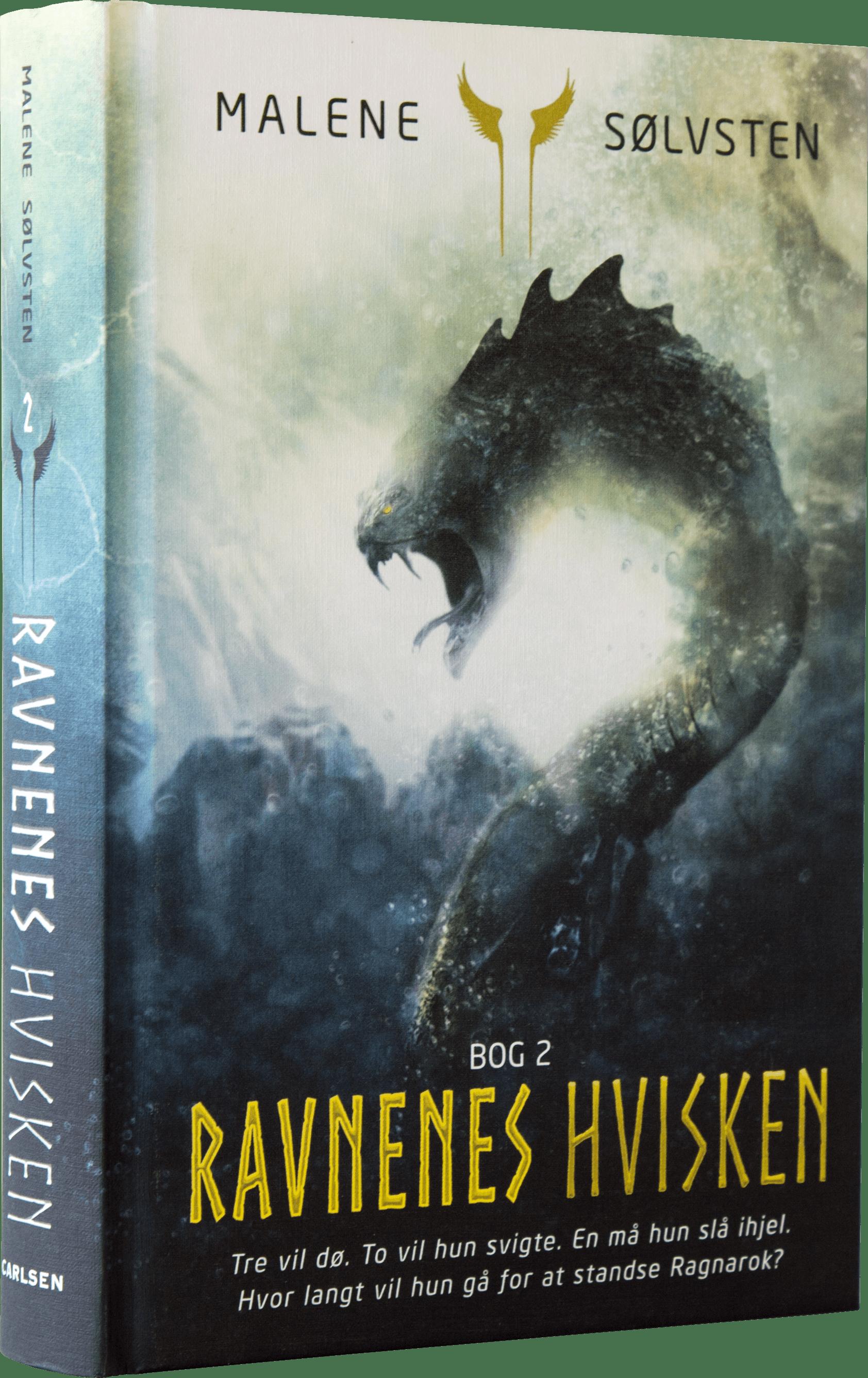 Ravnenes hvisken, Malene Sølvsten, fantasy, fantasy-bøger, ravnenes hvisken 2