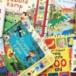 Leg og lær for de yngste – Syv sjove papbøger