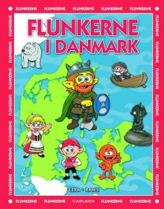 Flunkerne, Flunkerne i Danmark, børnebog, børnebøger