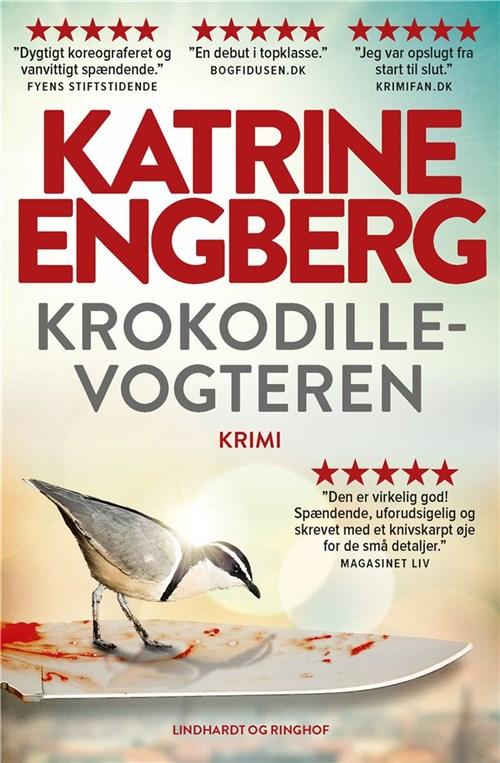 sommerlæsning paperbacks lindhardt & ringhof forlag Katrine Engberg Krokodillevogteren