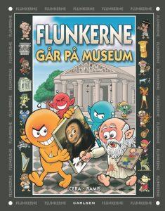 Flunkerne, Flunkerne går på museum, børnebøger, børnebog