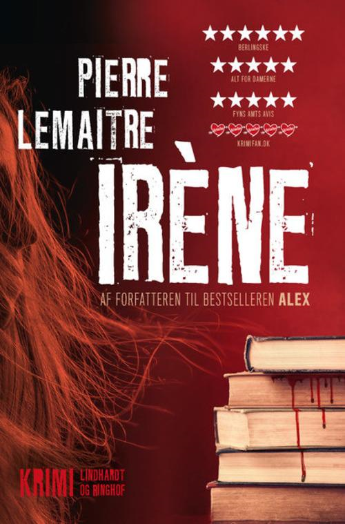 Pierre Lemaitre, Camille Verhoeven, krimitriologi, krimiserie, krimi, Iréne