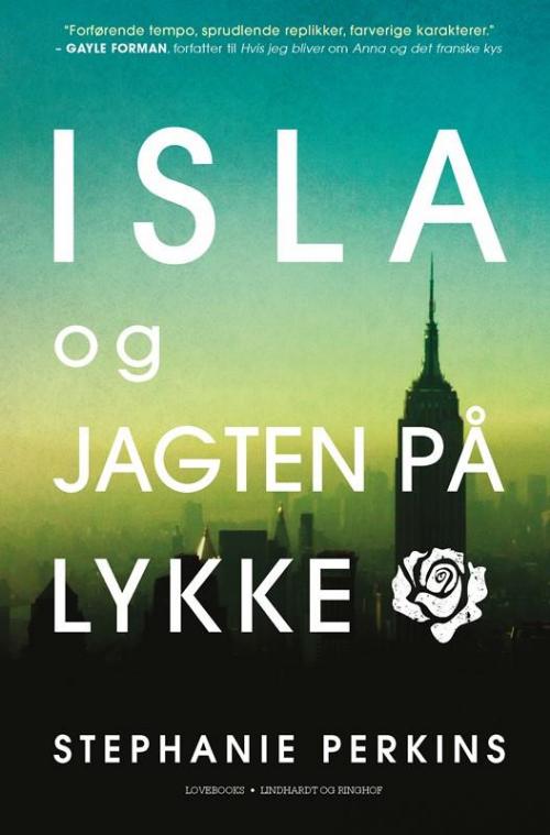 kærlighedsromaner lovebooks young adult isla og jagten på lykke stephanie perkins
