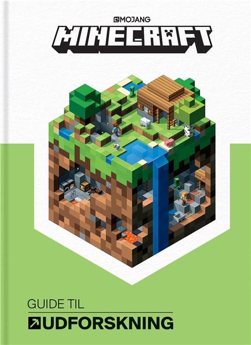 mincraft, børnebøger, minecraft guide til udforskning, minecraft bøger