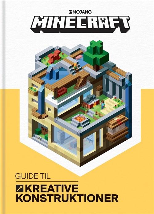 Minecraft, minecraft guide til konstruktioner, læring, børnebøger, minecraft guide, minecraft bøger