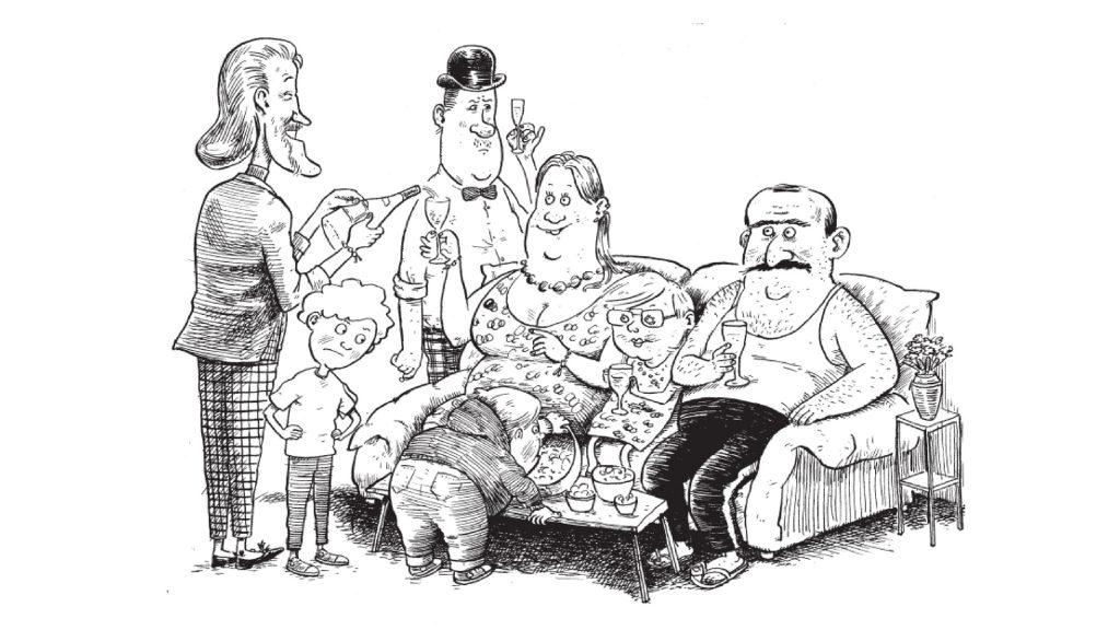 Karmaboy, højtlæsning, pinlige forældre