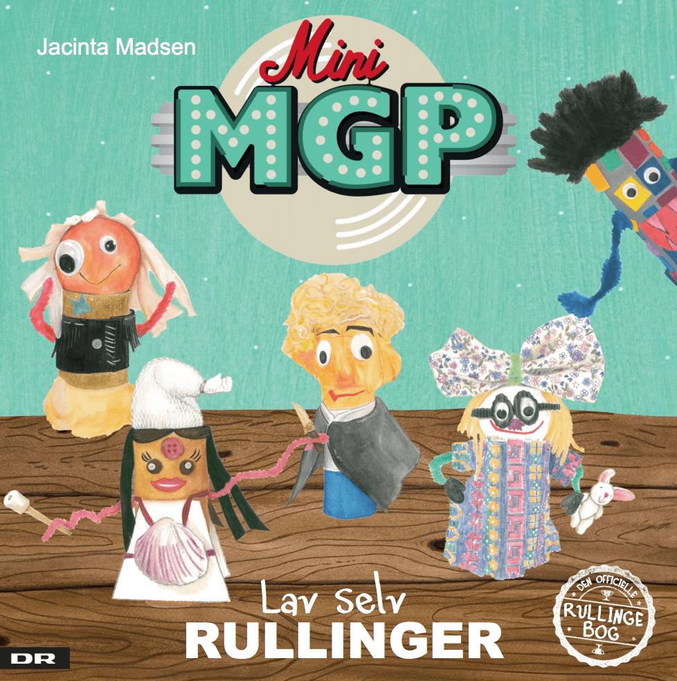 Mini MGP – lav selv rullinger, ramasjang, rullinger, DYI. børnebog, børnebøger, bog
