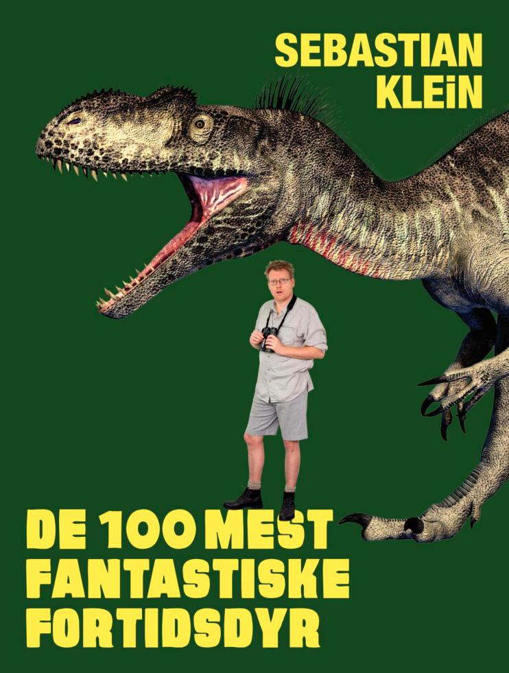 De 100 mest fantastiske fortidsdyr , Sebastian Kleiin, børnebøger, højtlæsning, børnebog