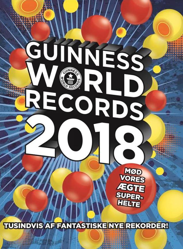 Guinness world records 2018, børnebøger, guinness rekordbog, rekorder, børnebøger