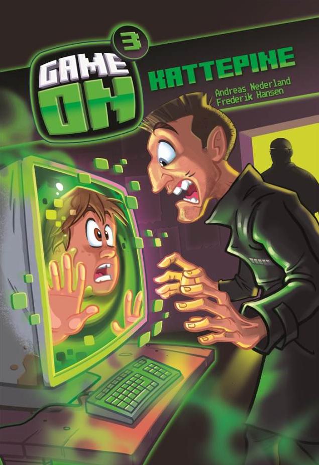 Game on 3, kattepine, børnebøger, højtlæsning, børnebog