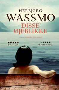 wassmo, norge, bøger, disse øjeblikke, portræt af stærk kvinde,