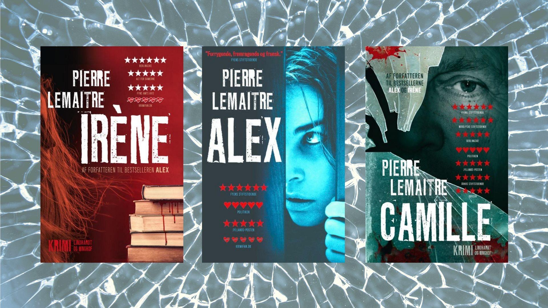 Pierre Lemaitre, Camille Verhoeven, krimitriologi, krimiserie, krimi, Iréne, Alex, Camille
