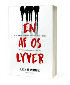 En af os lyver, carlsenpuls, ya, young adult, one of us is lying