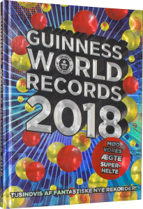 Guinness world records 2018, guinness world records, rekorder, rekordbog