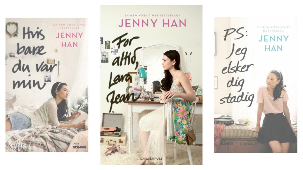 Jenny Han, Lara Jean, for altid lara jean, ungdomsbog, kærlighed, kærlighedsroman