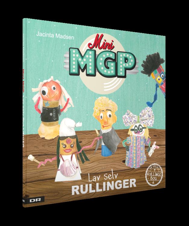 rullinger, Mini MGP, kreativ, diy, børnebog, Ramasjang