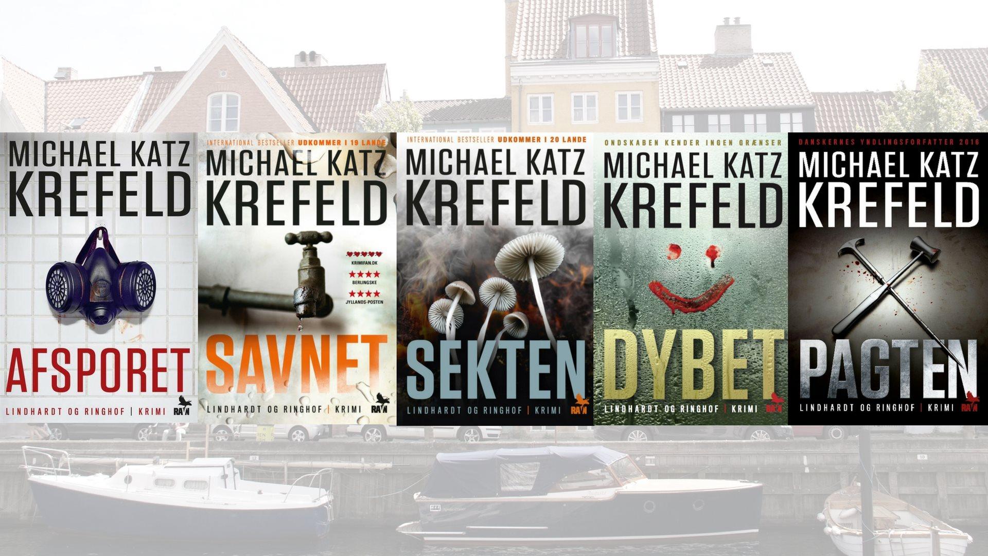 Michael Katz Krefeld, krimi, Ravn serien, dybet, afsporet, savnet, sekten, pagten, krimiserie
