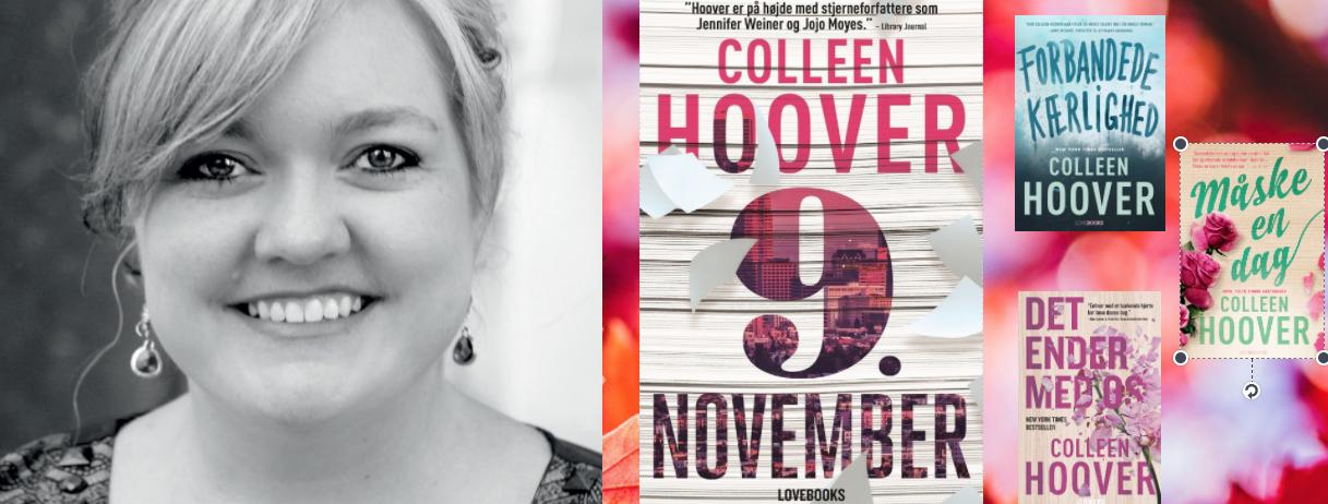 kærlighedsromaner til halv pris, collleen hoover