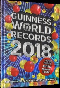 Guinness World Records, Guinness Rekordbog, opslagsværk, børnebog, børnebøger, ungdomsbog, ungdomsbøger