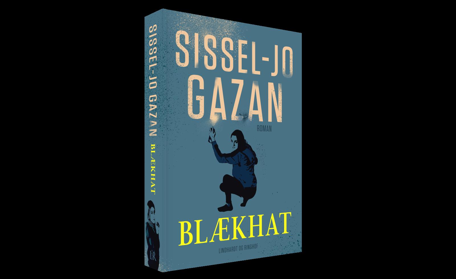 blækhat, Sissel-Jo Gazan, street art, spændingsroman,