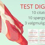 Quiz: Danmarksprøven i citater