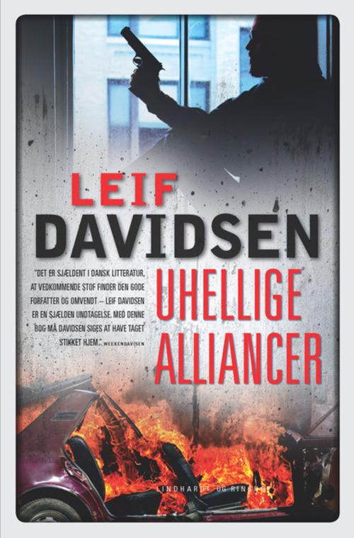 rækkefølgen på Leif Davidsens bøger, spionromaner, krimier, Leif Davidsen, uhellige alliancer