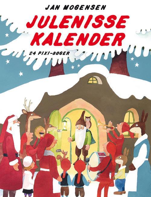 Julenissekalender, Jan Mogensen, PIXI, pixi-bøger, jul, julebog, julekalenderbog, julekalender