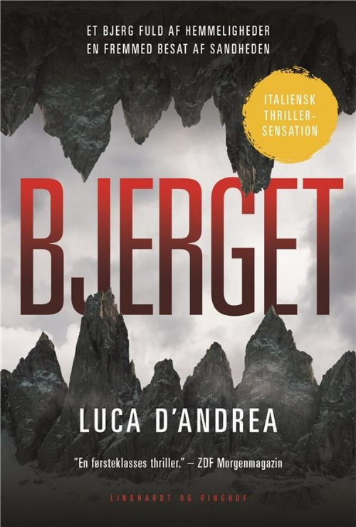 Bjerget, Luca d'Andrea, thriller, krimi, krimier