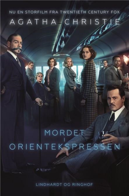 Mordet i Orientekspressen, Agatha Christie, krimi, krimier