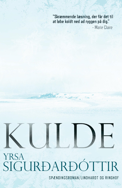 Kulde, Yrsa Sigurdardóttir, krimi, krimier, thriller
