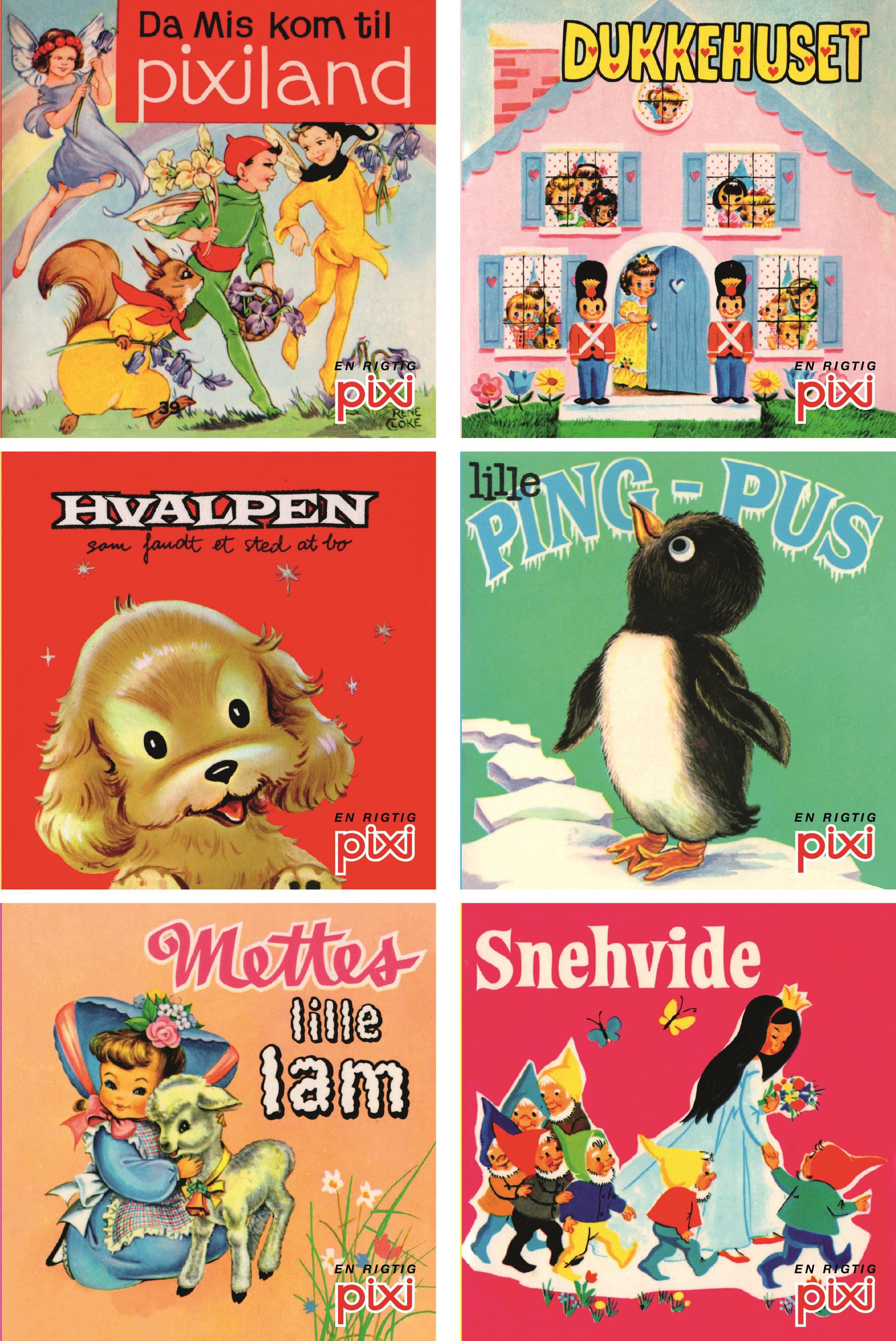 Pixi nostalgi, pixi, pixi-bog, pixi-bøger, nostalgi, børnebøger, forlaget carlsen, carlsen, børnebog