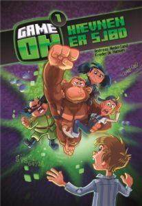 Game on, game on-bøgerne, 10-årige, bøger til 10-årige, børnebøger, Andreas Nederland, Frederik Hansen