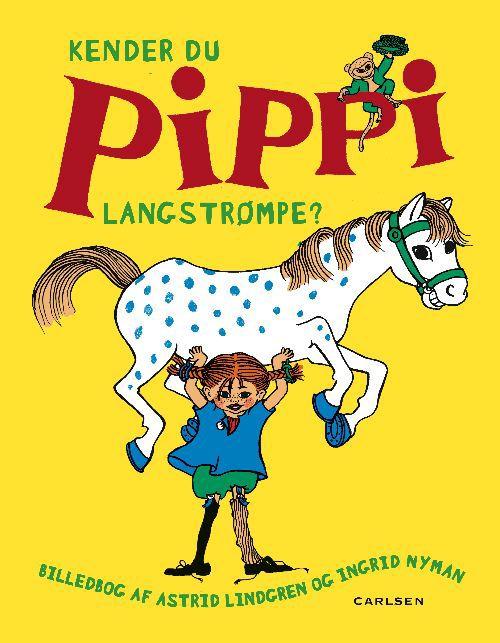 Kender du Pippi Langstrømpe? Pippi Langstrømpe, Carlsen, Forlaget carlsen, Astrid Lindgren