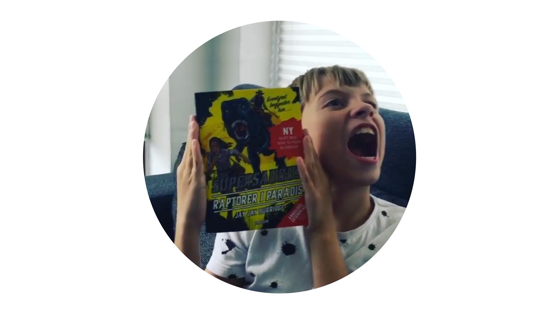 supersaurus, dinosaurus, bøger til tweens, jay jay burridge, supersaurus – raptorer i paradis
