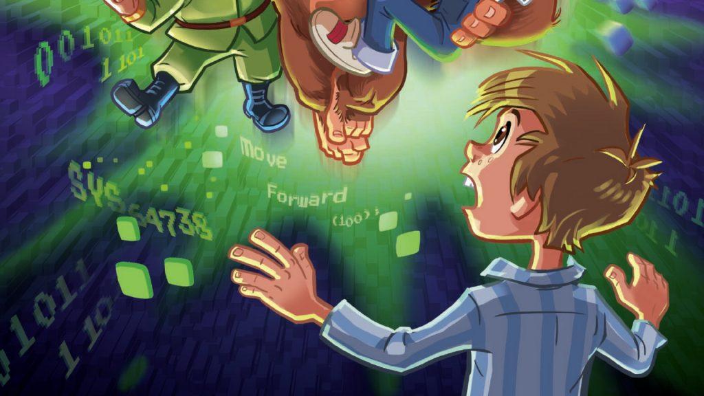 Game on, game on-bøgerne, børnebøger, 10-årige, bøger til 10-årige, andreas nederland, frederik hansen