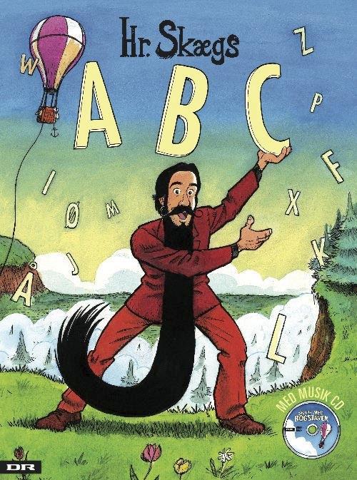 Hr. Skæg, ABC, Hr. Skægs ABC, Mikkel Lomborg, børnebog, børnebøger